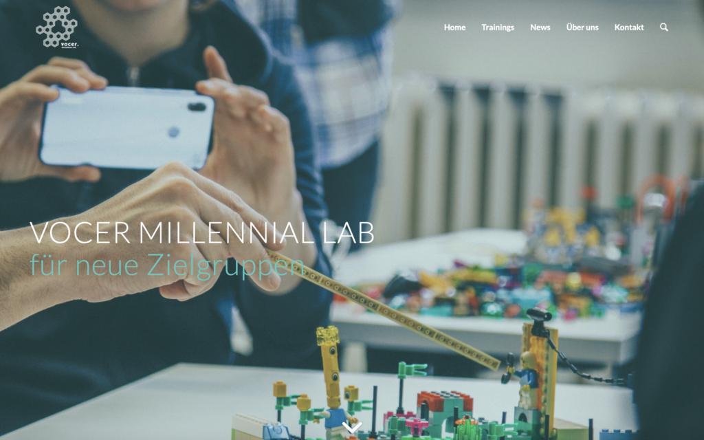 Screenshot millenniallab.org