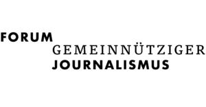 Logo des Forums Gemeinnütziger Journalismus