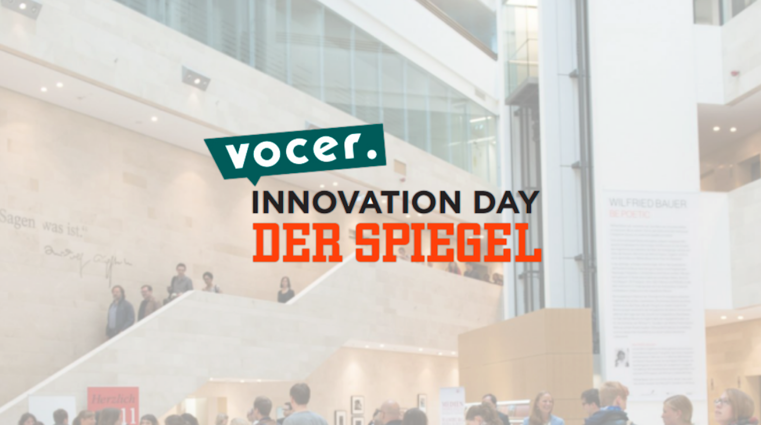 VOCER Innovation Day