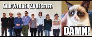 Formatgerechte Frustverarbeitung: Reaktion auf das Aus der tagesWEBschau.