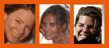 Das Team von Hostwriter: Tamara, Sandra und Tabea