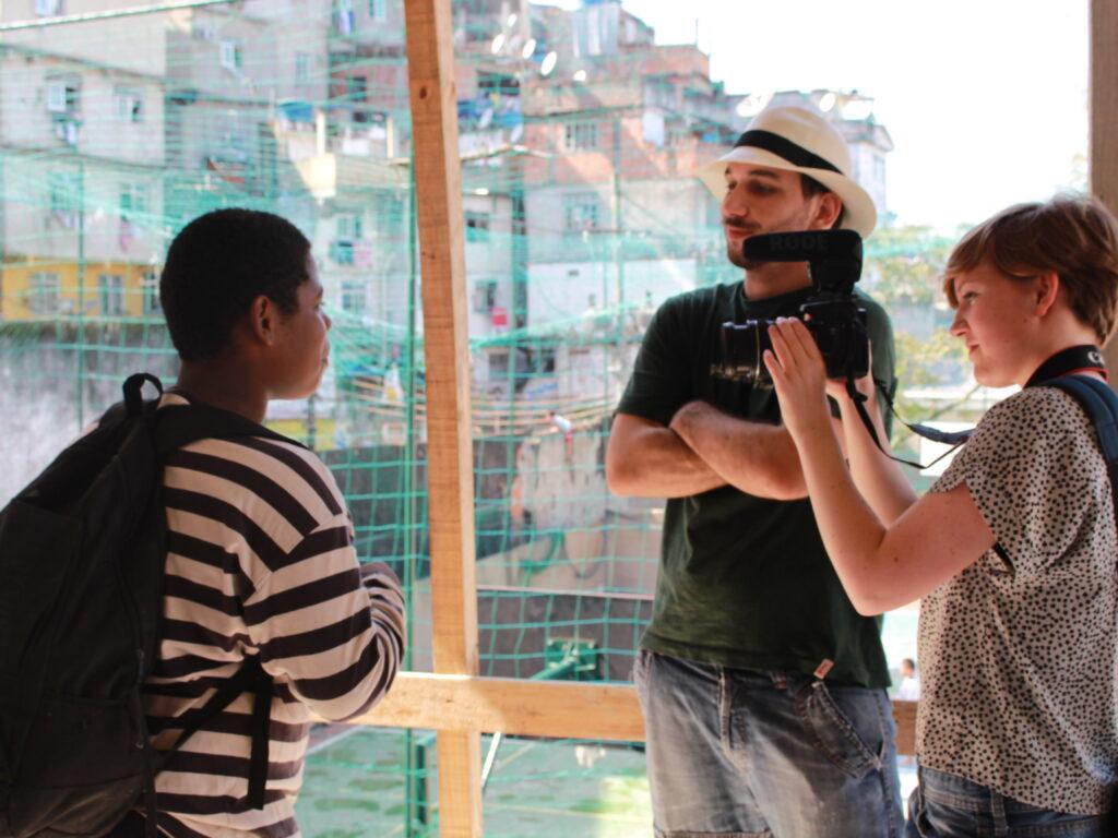 Aus unserer Favela-Recherche entsteht gerade ein Film.