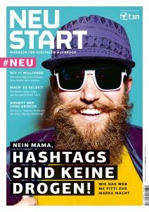 """MC Fitti auf dem Cover: """"Neustart"""" soll eine junge Zielgruppe erschließen."""